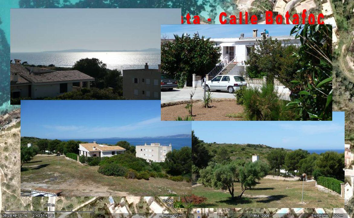 Cala Blava, Bella Vista - Calle Botafoc
