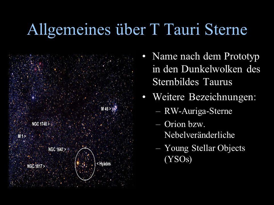 Allgemeines über T Tauri Sterne