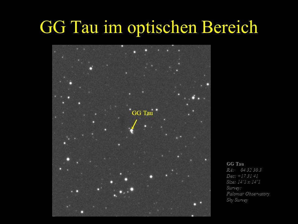 GG Tau im optischen Bereich