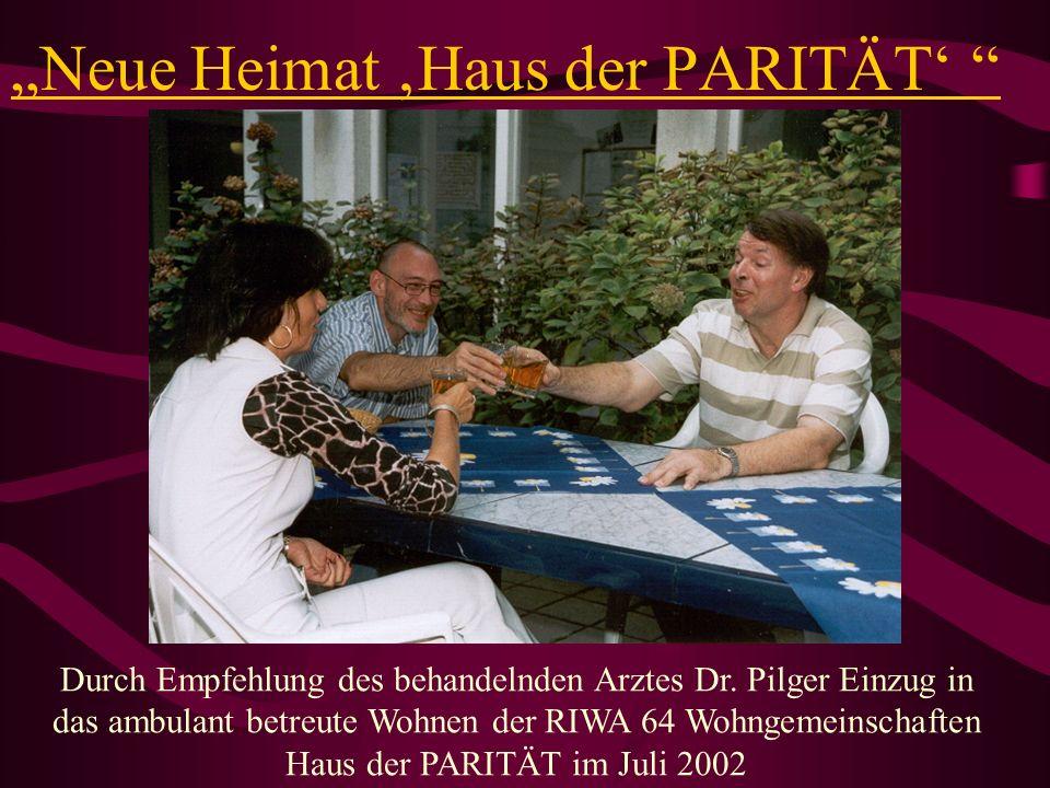"""""""Neue Heimat 'Haus der PARITÄT'"""