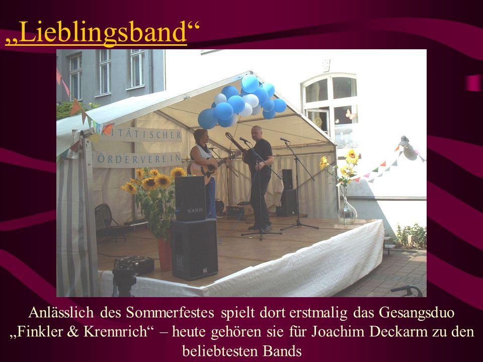 """""""Lieblingsband"""
