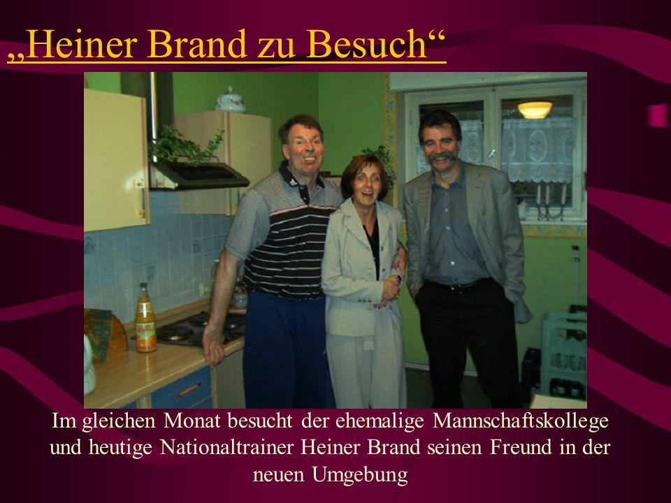 """""""Heiner Brand zu Besuch"""