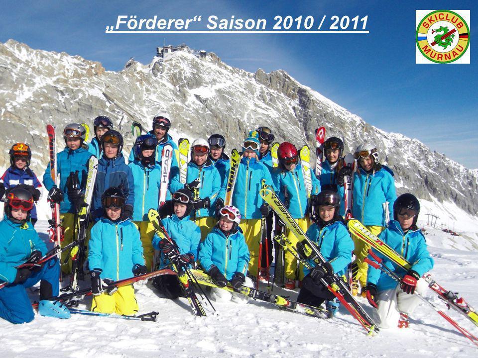 """Förderer Saison 2010 / 2011"
