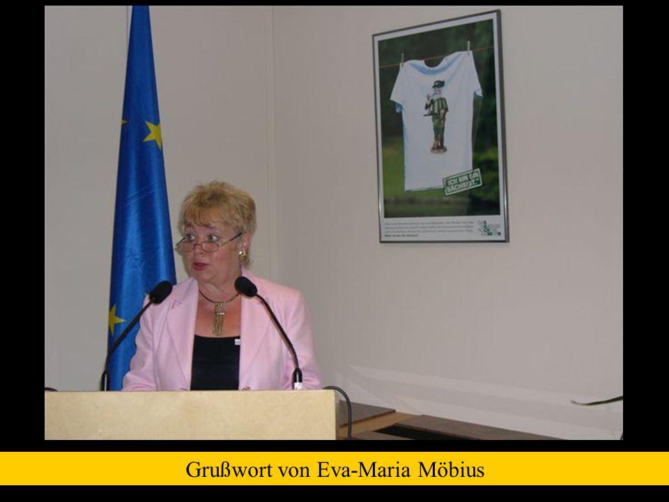 Grußwort von Eva-Maria Möbius