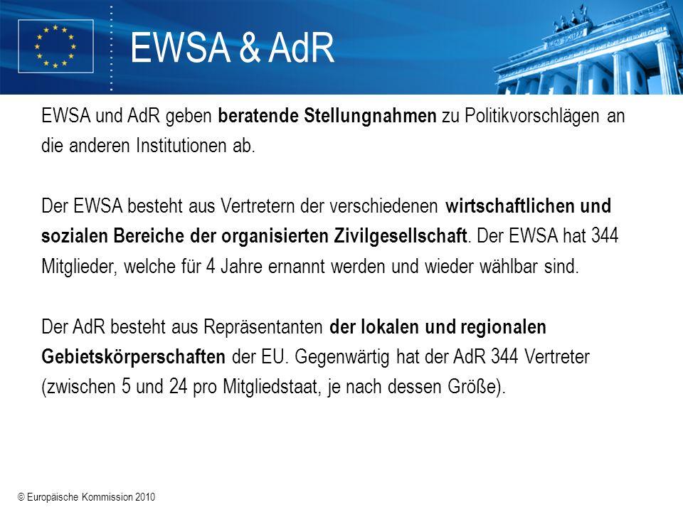 EWSA & AdR