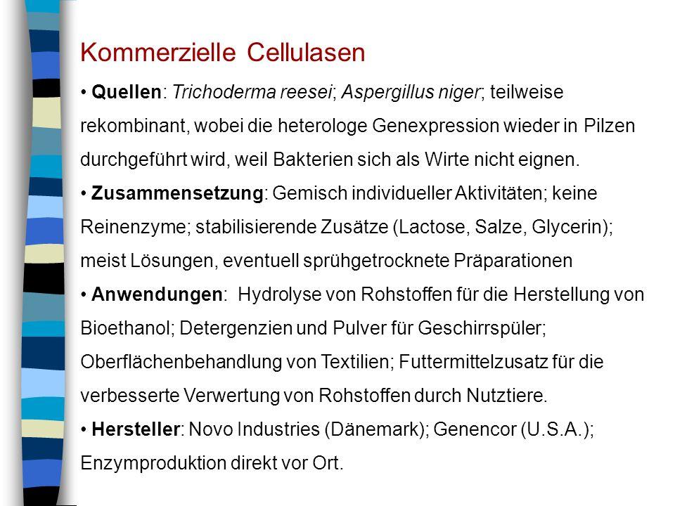 Kommerzielle Cellulasen