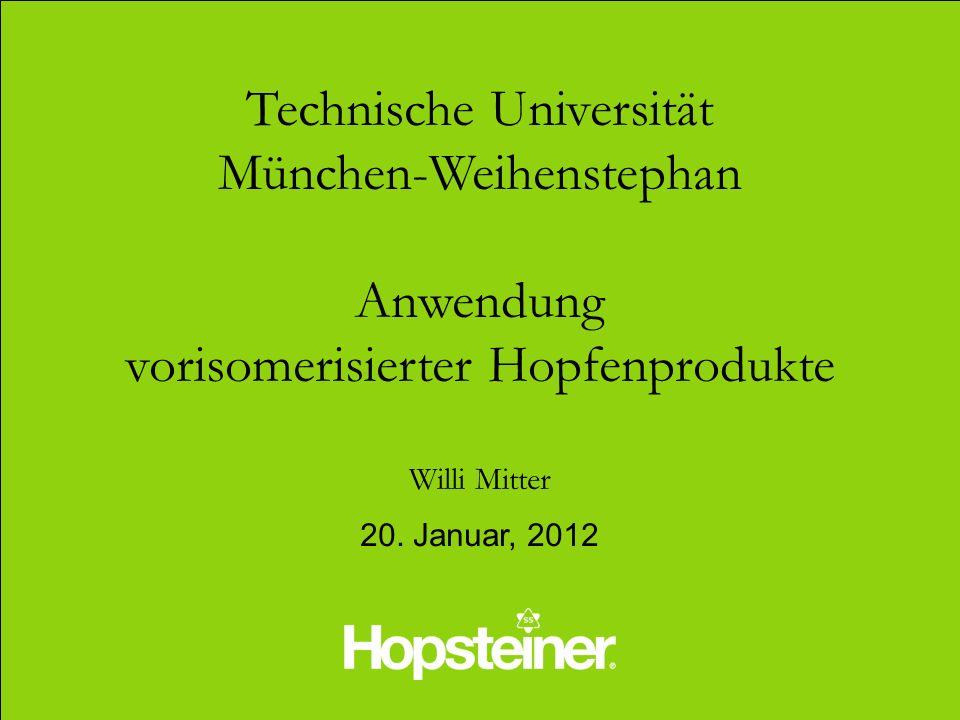 Technische Universität München-Weihenstephan Anwendung