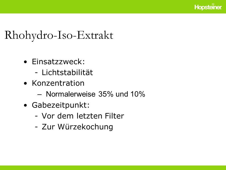 Rhohydro-Iso-Extrakt
