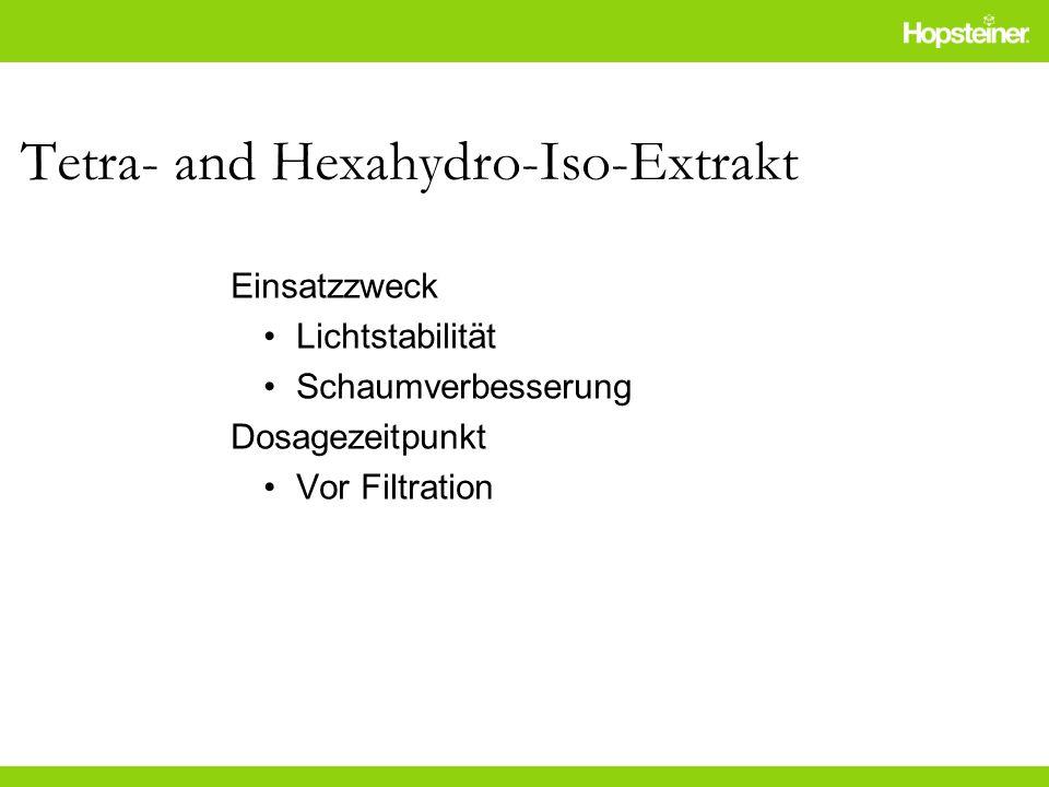 Tetra- and Hexahydro-Iso-Extrakt