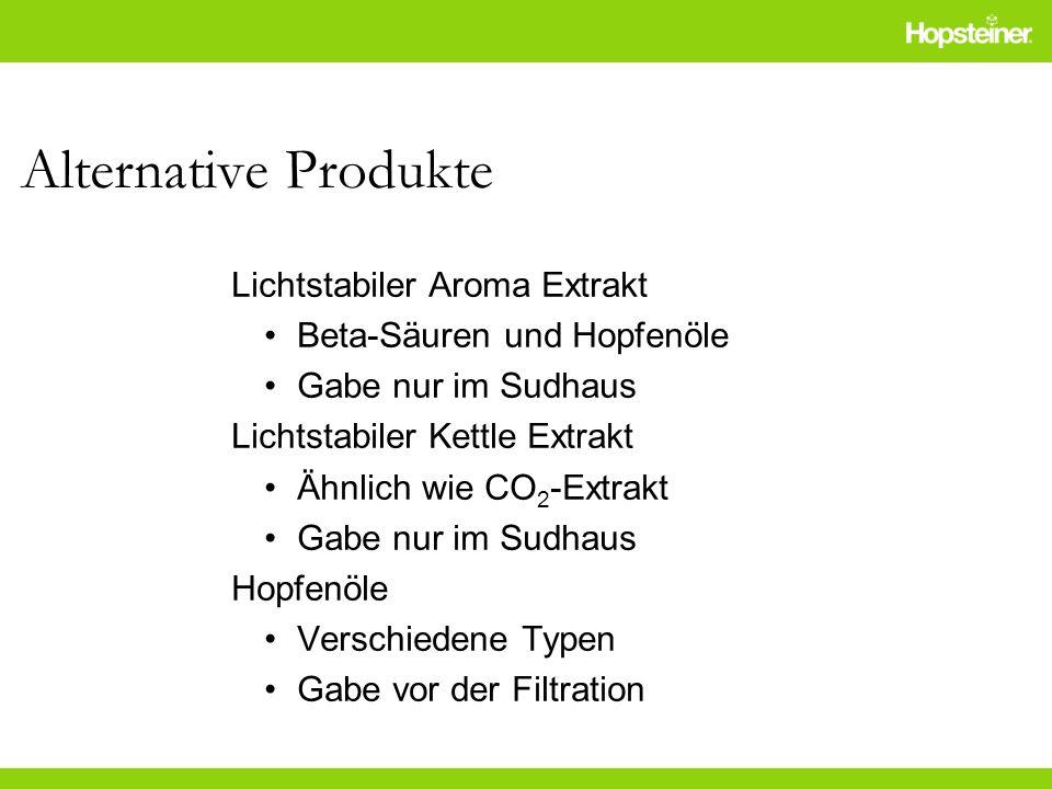 Alternative Produkte Lichtstabiler Aroma Extrakt