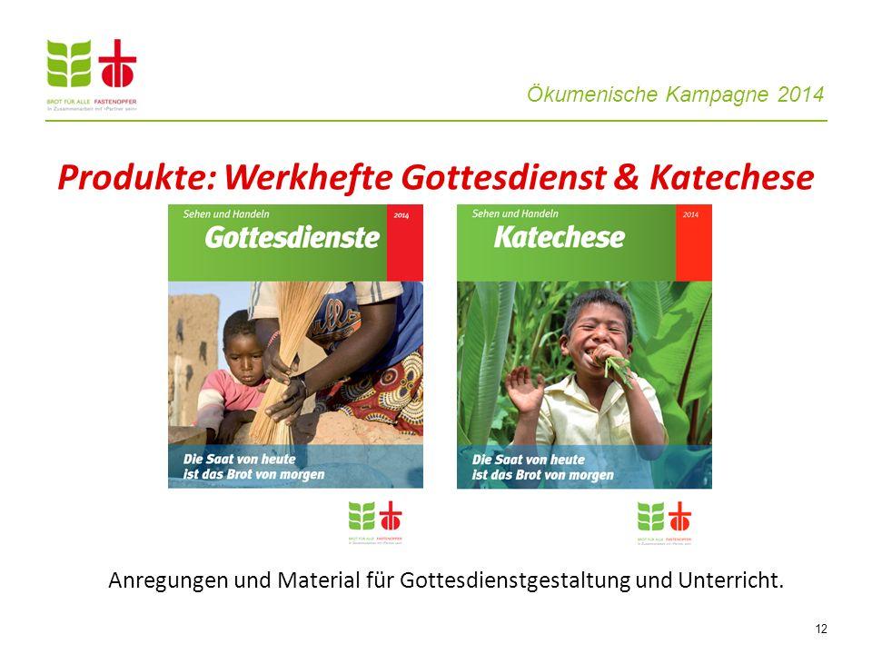 Produkte: Werkhefte Gottesdienst & Katechese