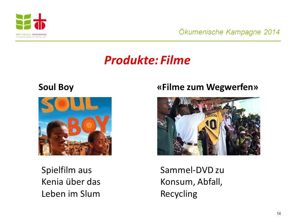Produkte: Filme Soul Boy «Filme zum Wegwerfen»