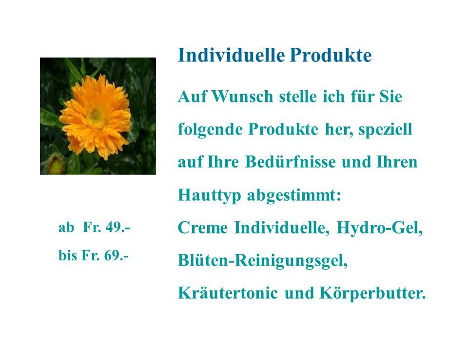 Individuelle Produkte