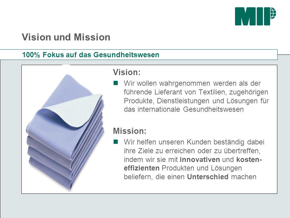 Vision und Mission Vision: Mission: