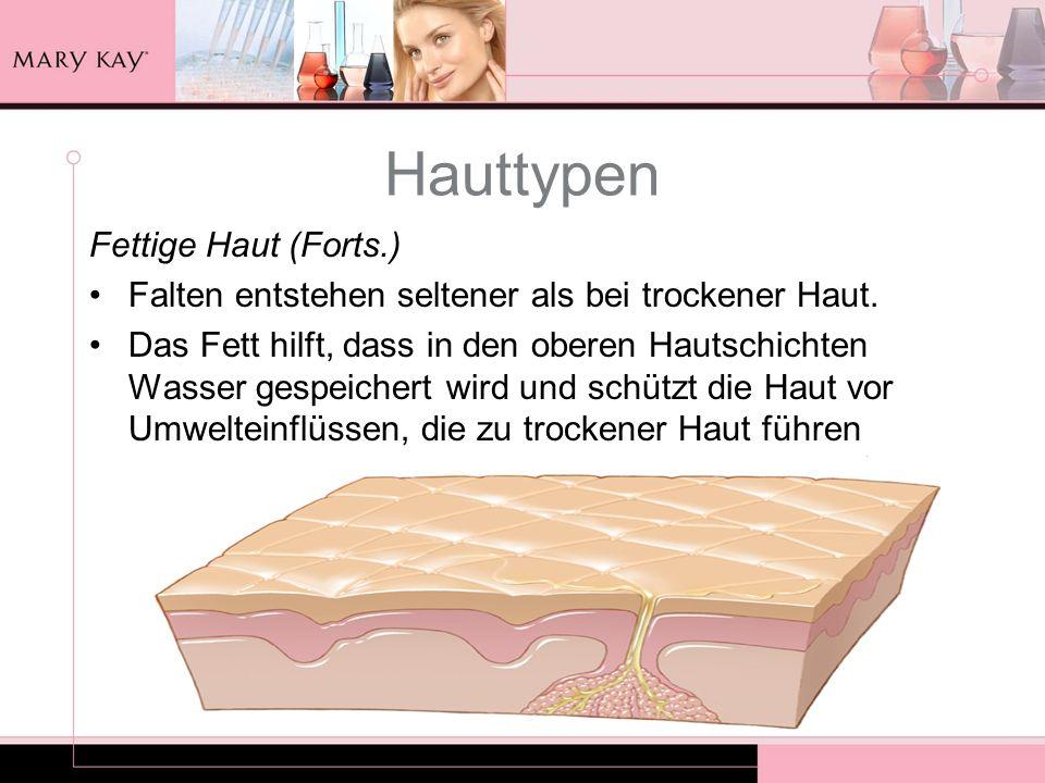 Hauttypen Fettige Haut (Forts.)