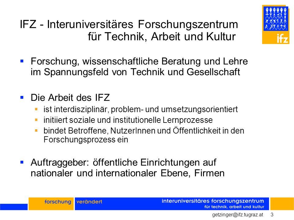 IFZ - Interuniversitäres Forschungszentrum