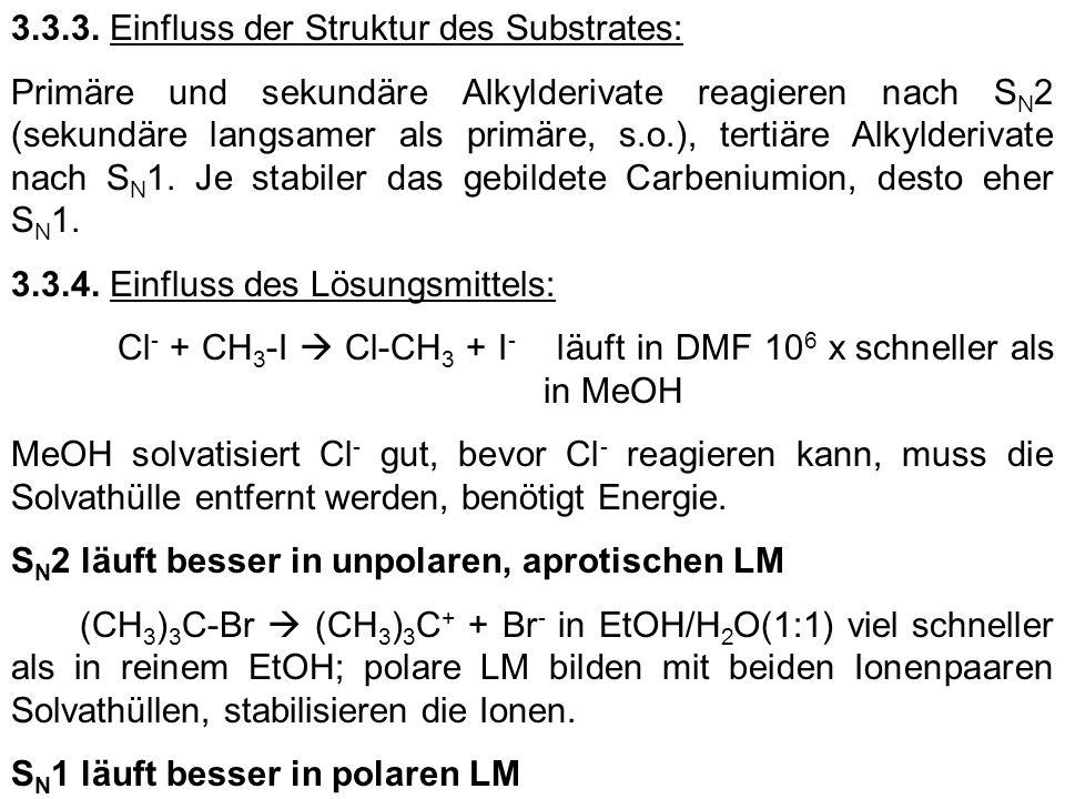 3.3.3. Einfluss der Struktur des Substrates: