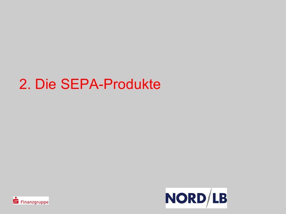 28.03.2017 2. Die SEPA-Produkte