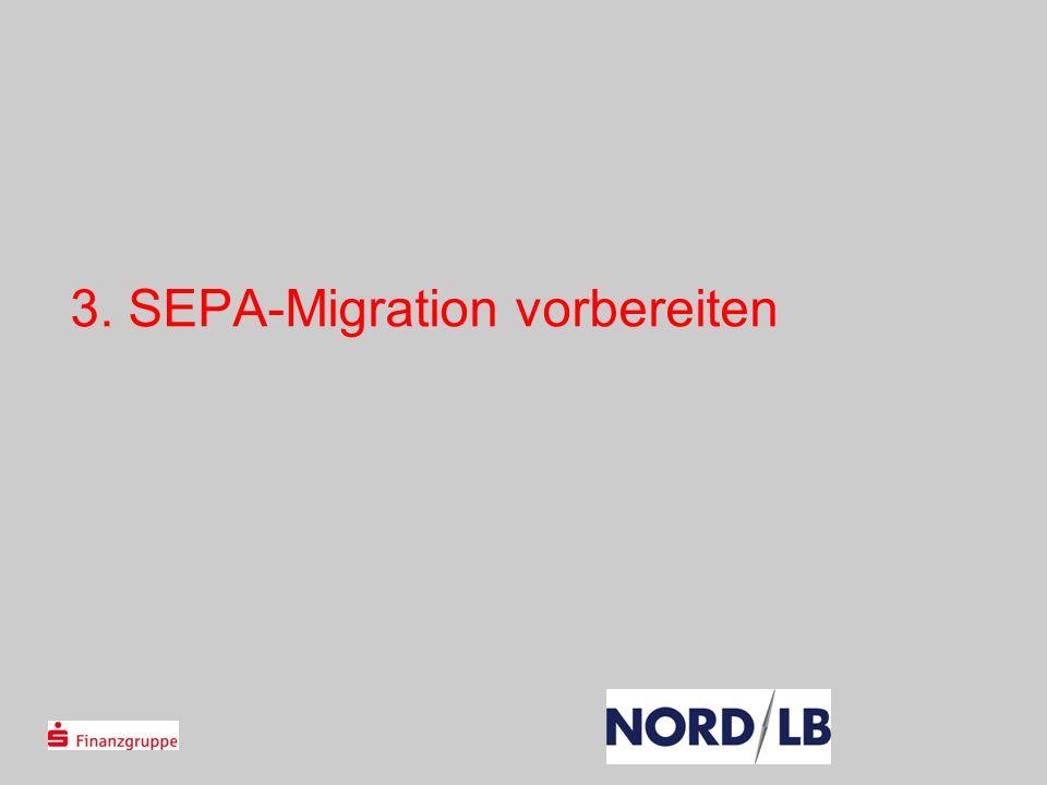 3. SEPA-Migration vorbereiten