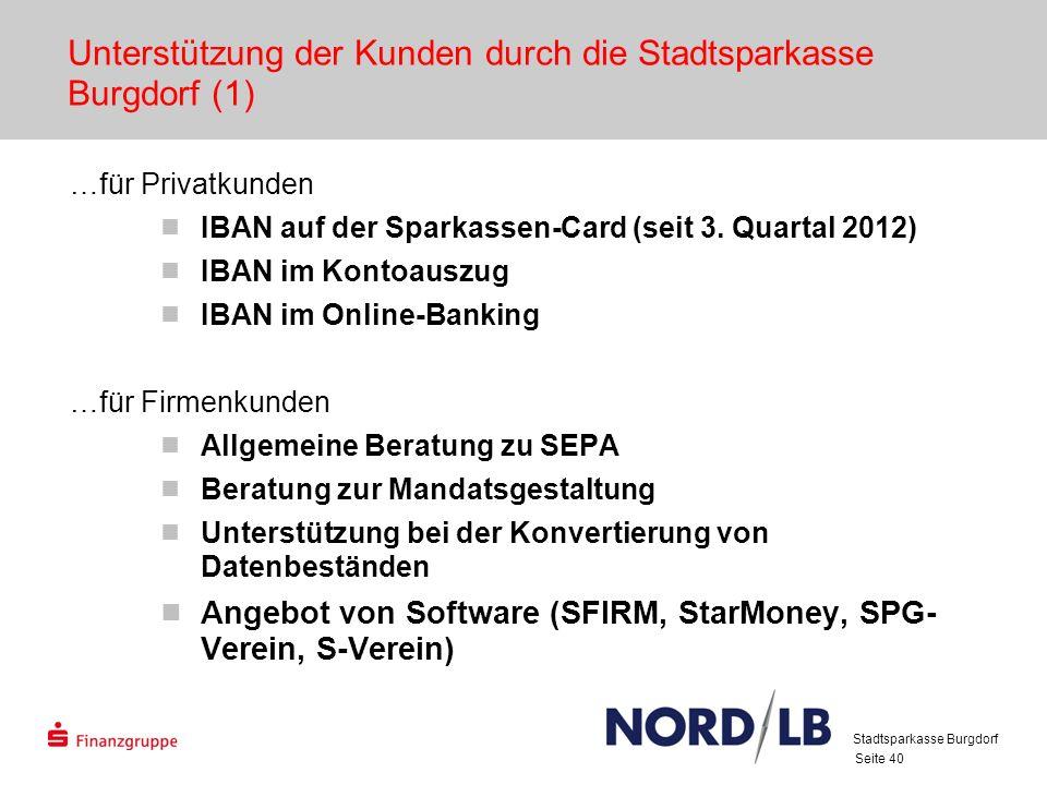 Unterstützung der Kunden durch die Stadtsparkasse Burgdorf (1)