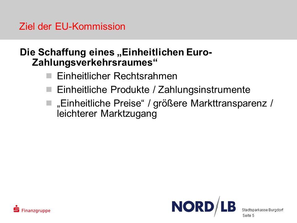 Ziel der EU-Kommission