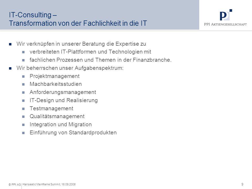 IT-Consulting – unsere Themenschwerpunkte (I)