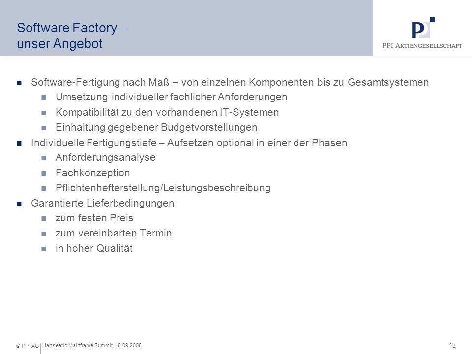 Software Factory – unser Vorgehensmodell zertifiziert nach DIN EN ISO 9001:2000