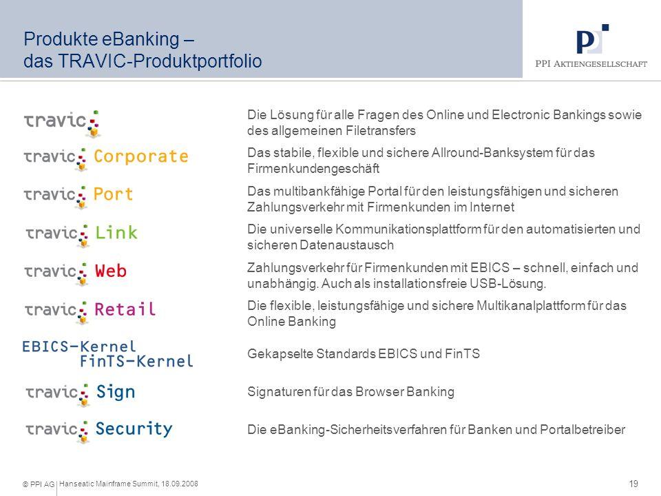 Produkte eBanking – Nutzen für unsere Kunden