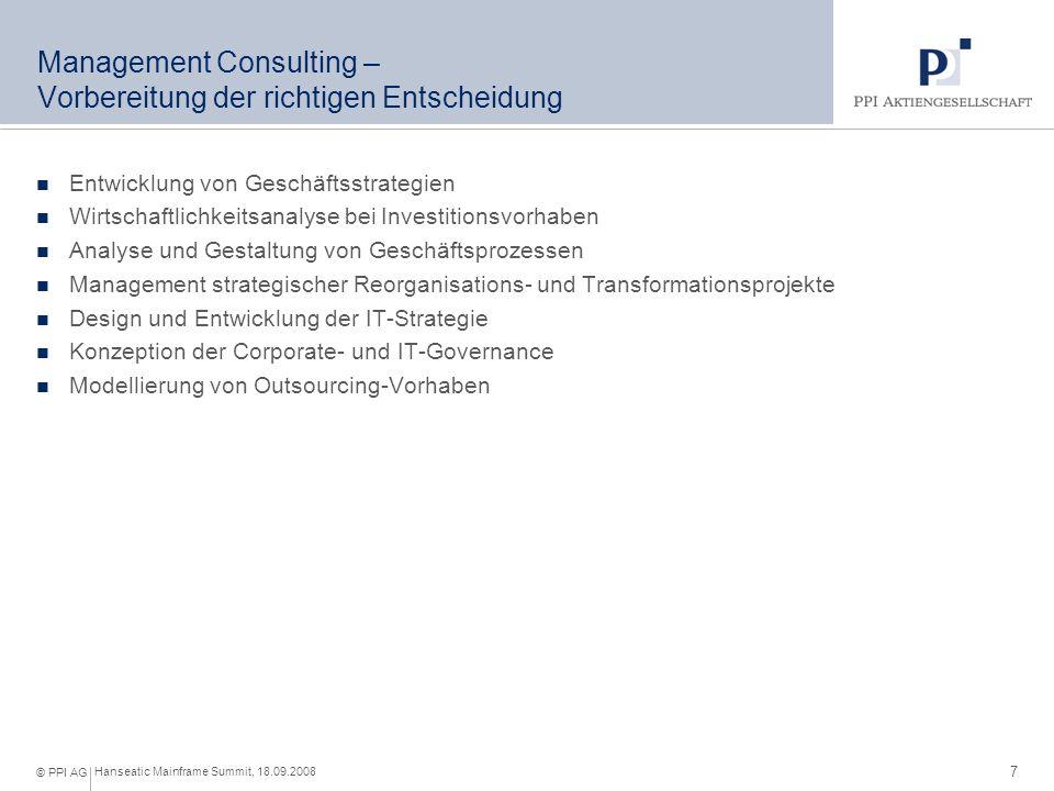 Business Consulting – Umsetzung mit höchster Qualität