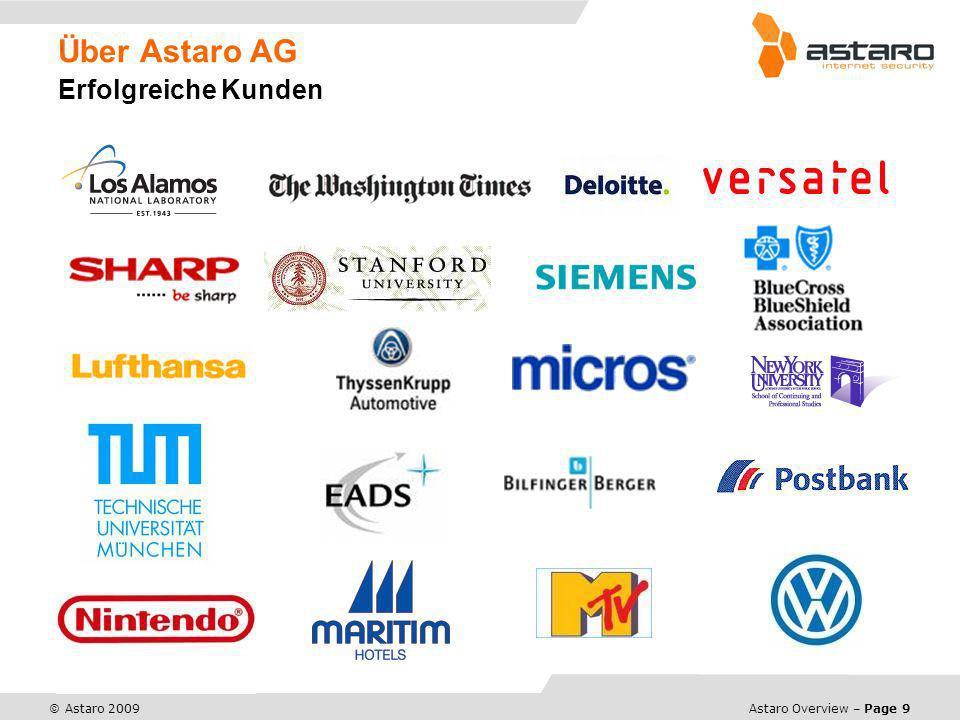 Über Astaro AG Erfolgreiche Kunden