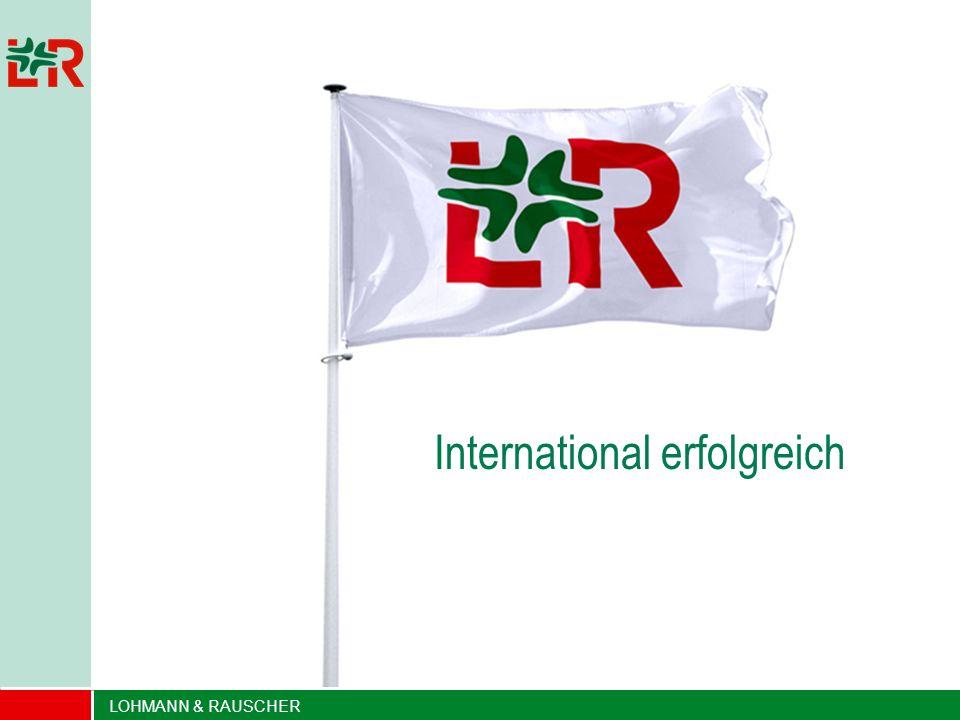 International erfolgreich