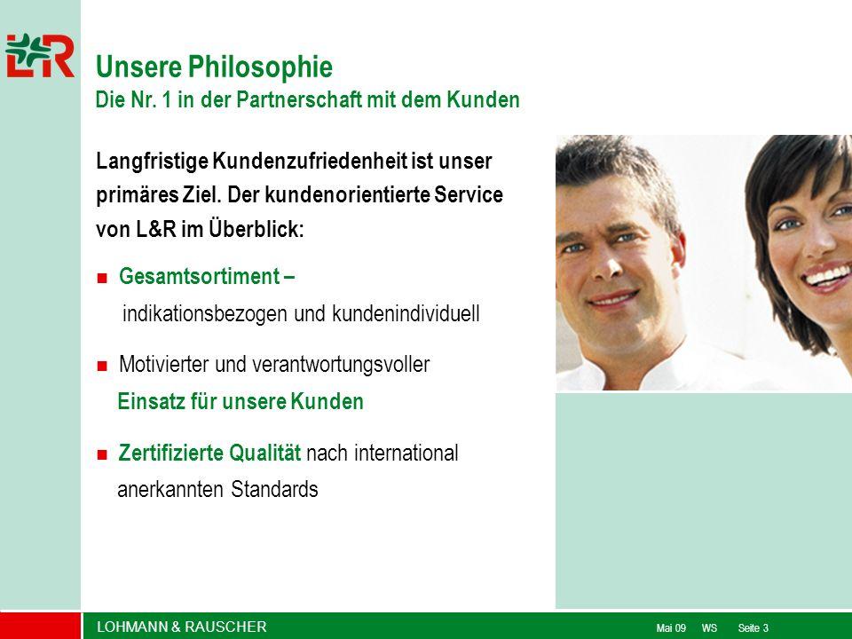 Unsere Philosophie Die Nr. 1 in der Partnerschaft mit dem Kunden