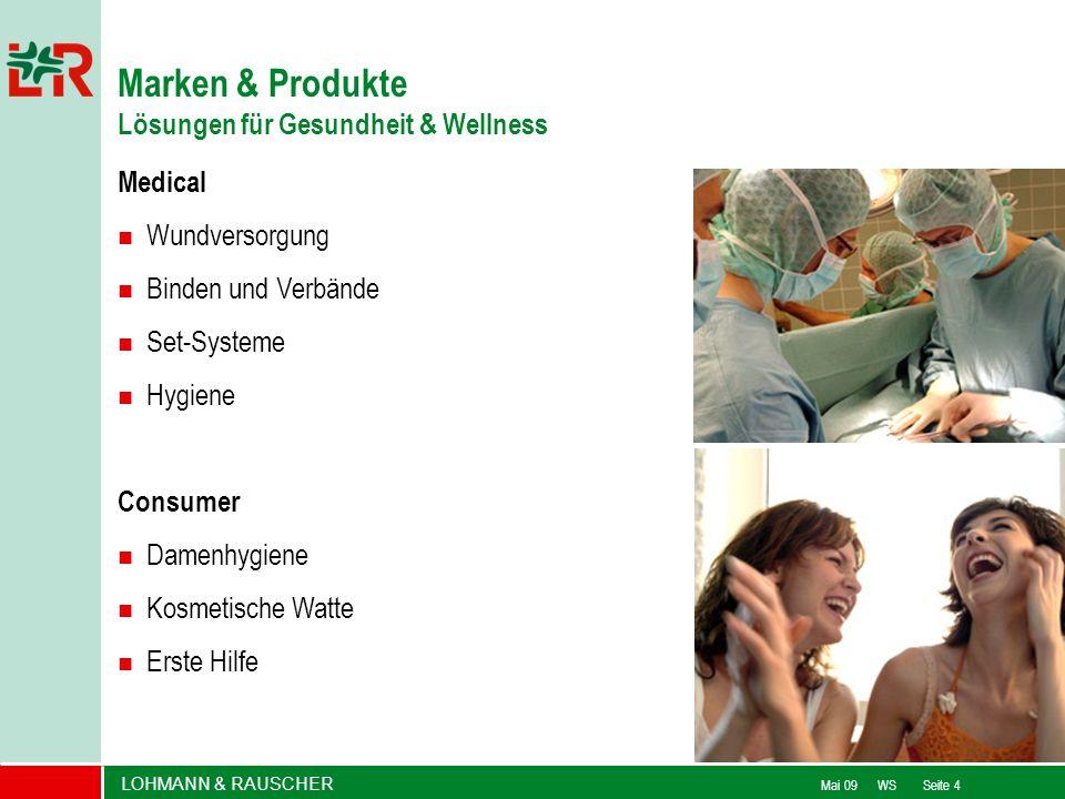 Marken & Produkte Lösungen für Gesundheit & Wellness