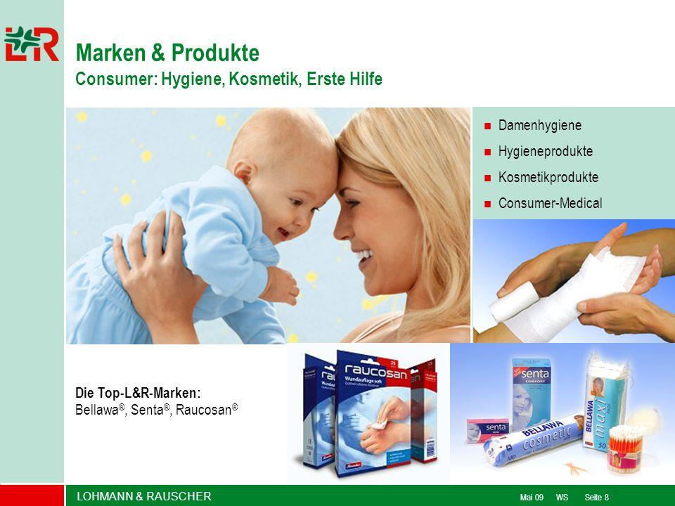 Marken & Produkte Consumer: Hygiene, Kosmetik, Erste Hilfe