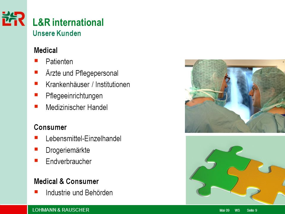 L&R international Unsere Kunden Medical Patienten