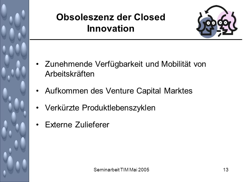 Obsoleszenz der Closed Innovation