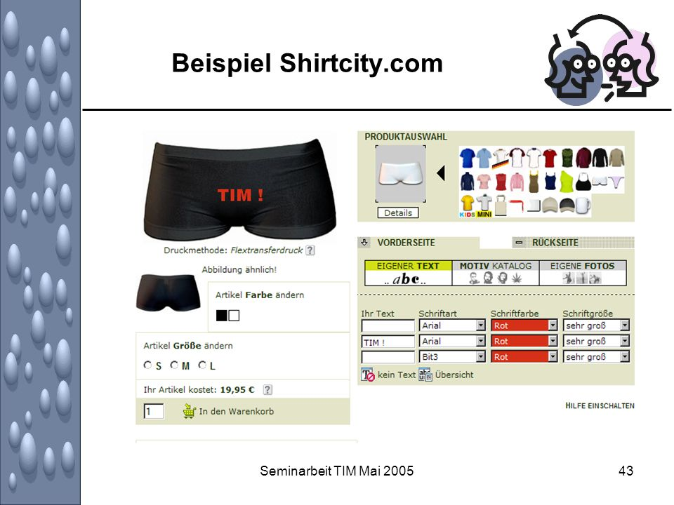 Beispiel Shirtcity.com