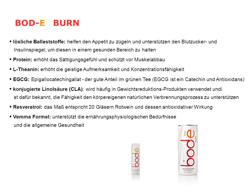 BOD-E BURN