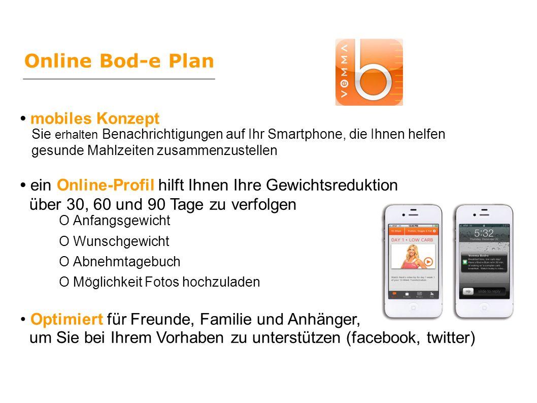 Online Bod-e Plan • mobiles Konzept
