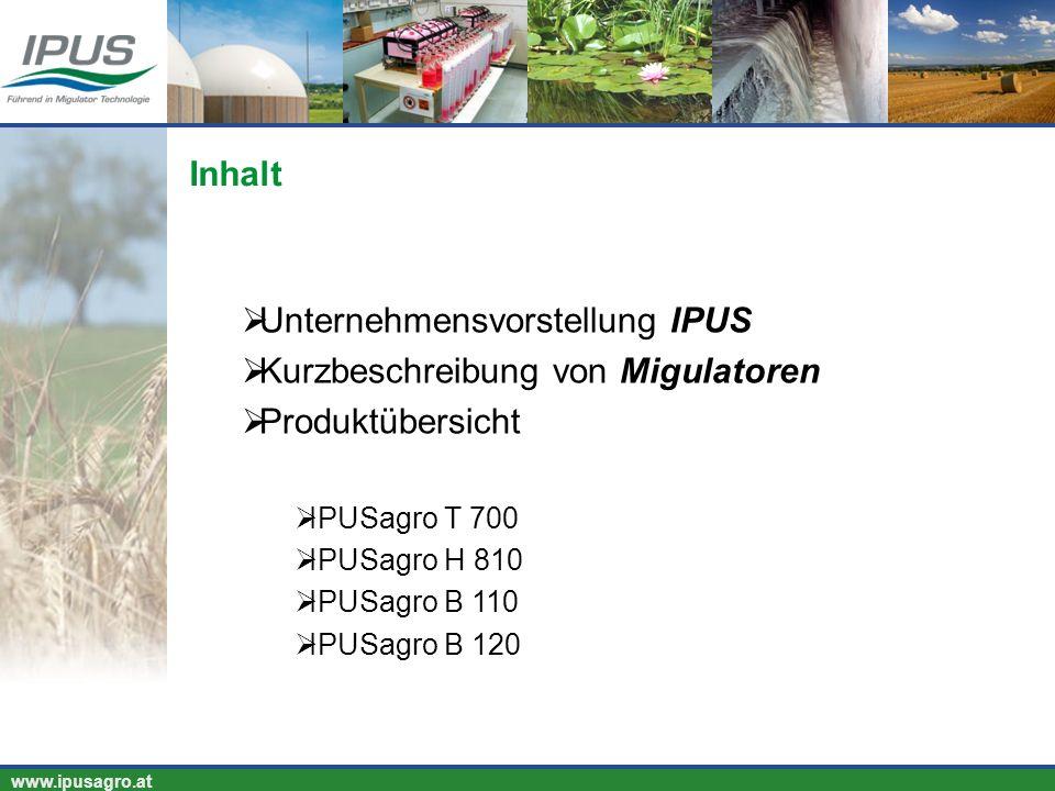 Unternehmensvorstellung IPUS Kurzbeschreibung von Migulatoren