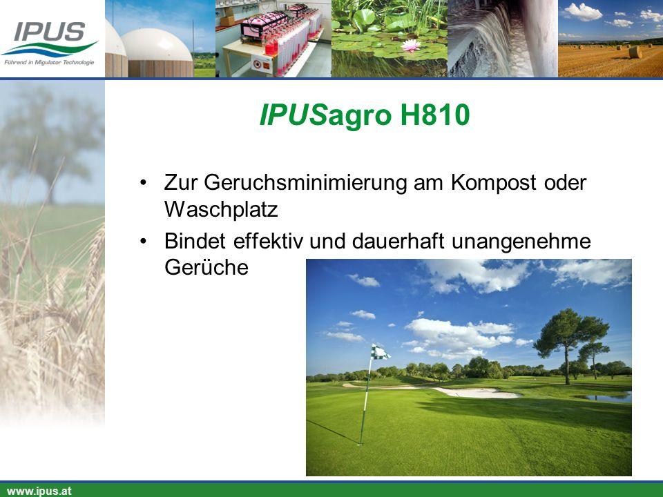IPUSagro H810 Zur Geruchsminimierung am Kompost oder Waschplatz