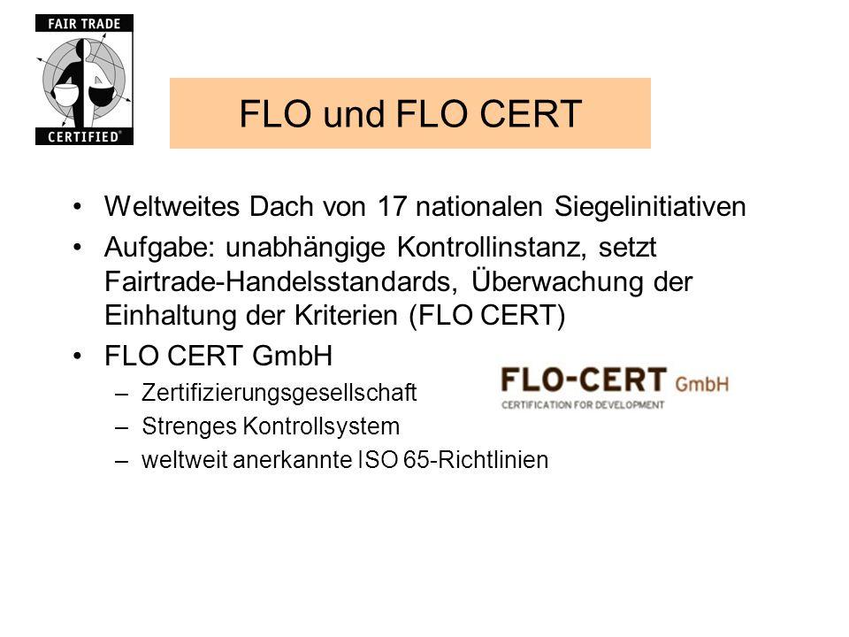 FLO und FLO CERT Weltweites Dach von 17 nationalen Siegelinitiativen