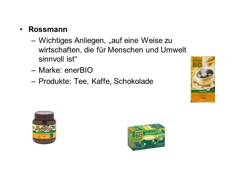 """Rossmann Wichtiges Anliegen, """"auf eine Weise zu wirtschaften, die für Menschen und Umwelt sinnvoll ist"""