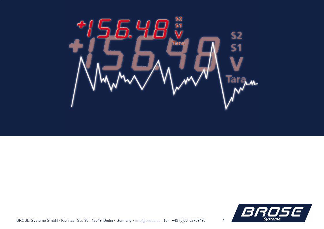 69675503BROSE Systeme GmbH · Kienitzer Str.