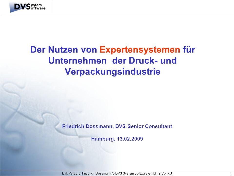 Friedrich Dossmann, DVS Senior Consultant