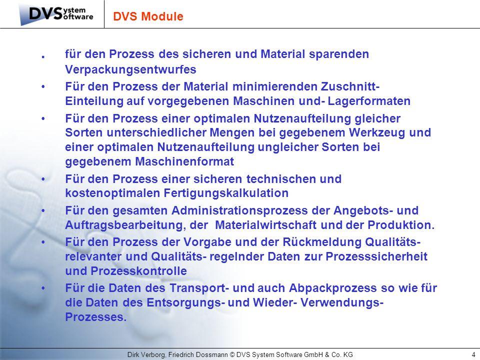 Dirk Verborg, Friedrich Dossmann © DVS System Software GmbH & Co. KG