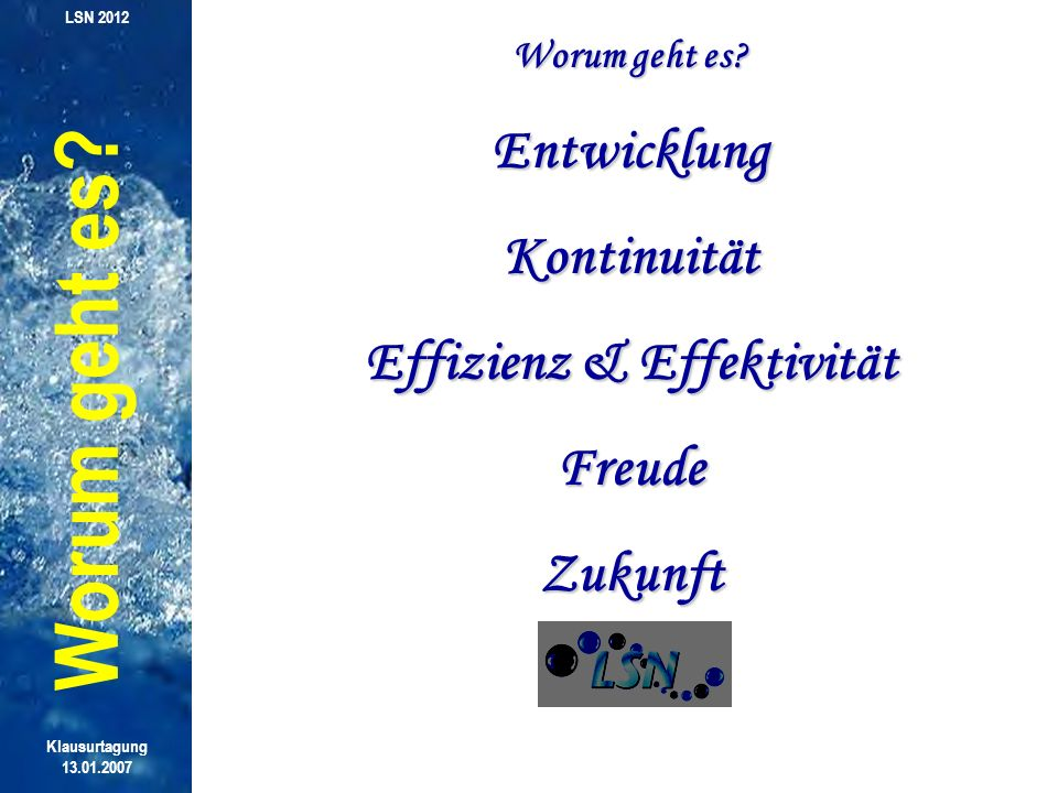 Effizienz & Effektivität