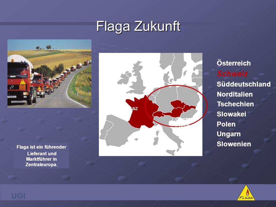 Flaga ist ein führender Lieferant und Marktführer in Zentraleuropa.