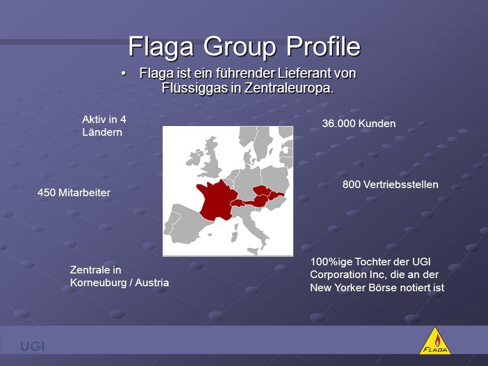 Flaga ist ein führender Lieferant von Flüssiggas in Zentraleuropa.