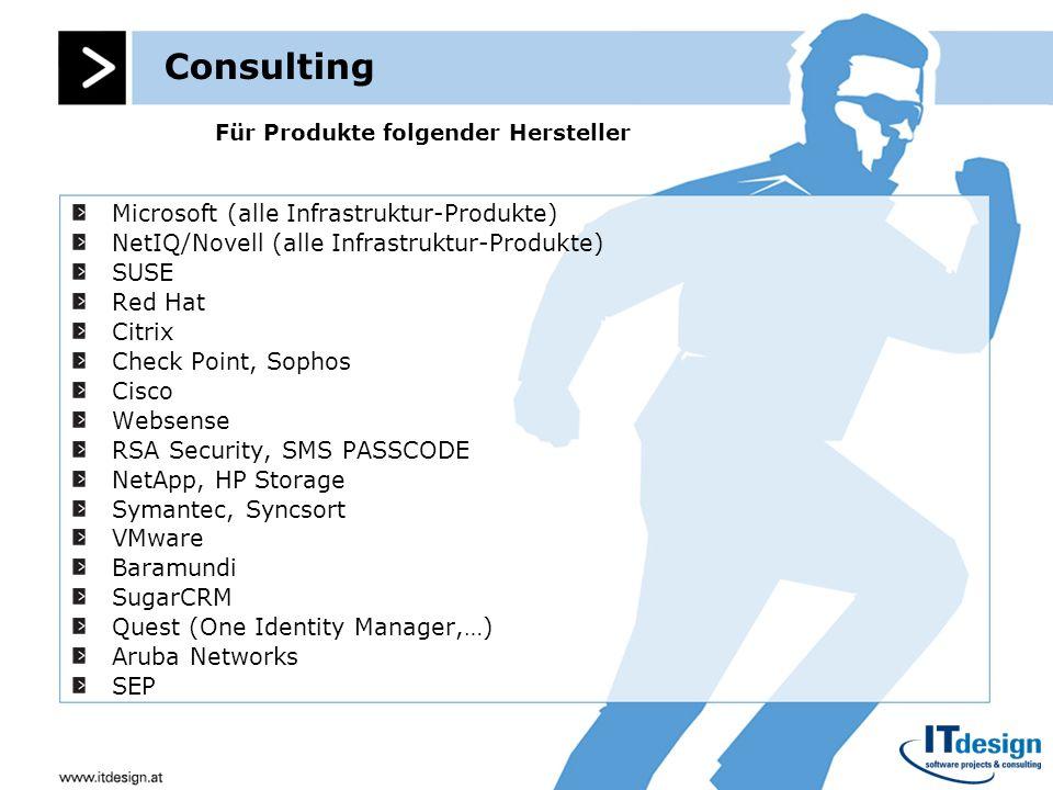 Für Produkte folgender Hersteller